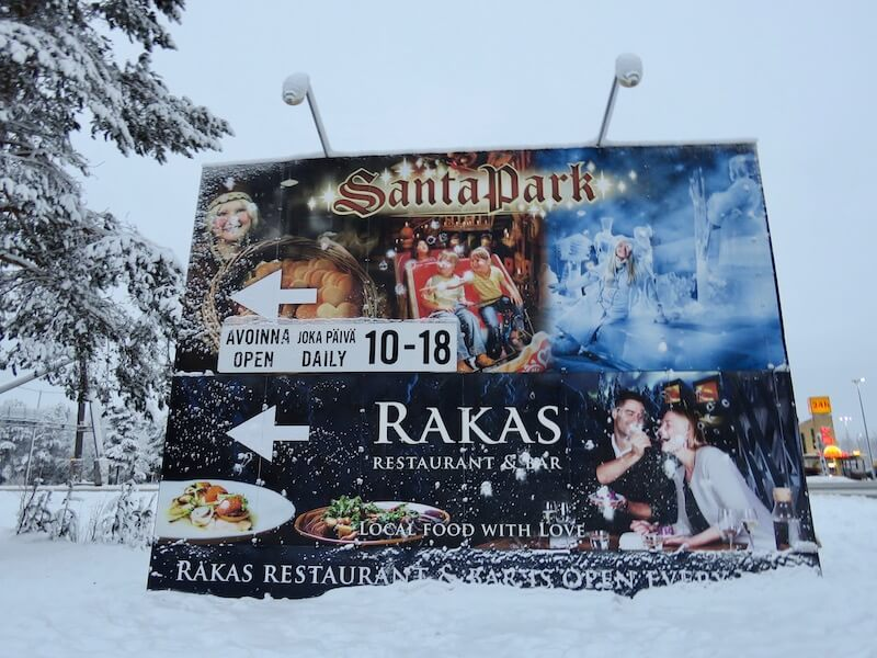Santa Park is just two kilometers from Santa Claus Village through a beautiful forest.