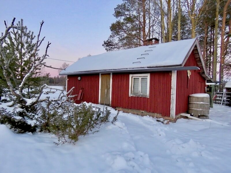 Christmas sauna is a habit in Finland. People are bathing (even snow bathing) usually before Santa Claus comes if children are able to wait.