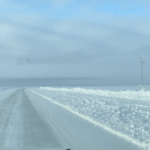 Ice road to Hailuoto